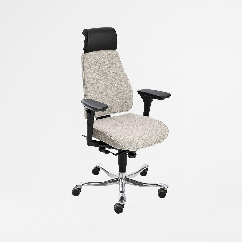 Pitkälle kehitetty ja ergonomisesti oikein suunniteltu työtuoli, jossa on käytetty Kinnarpsin kaikkein uusinta teknistä aluevaltausta nimeltä